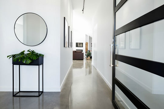 Polished Plain Concrete Perth