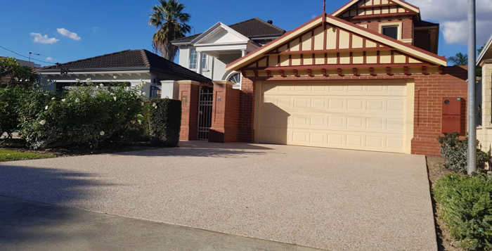 Exposed Aggregate Improves Property Prices