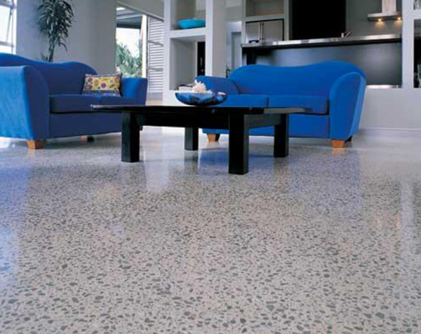 Exposed polished aggregate perth