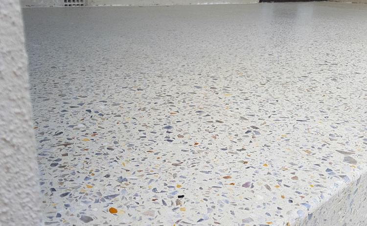 Honed Aggregate by Decorative Concrete WA