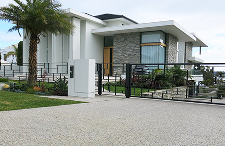 External view of customer's home