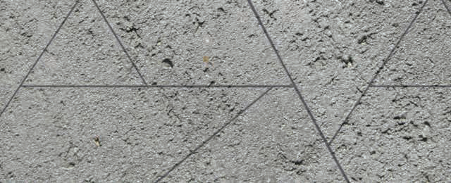 Limecrete Scored - Geometric