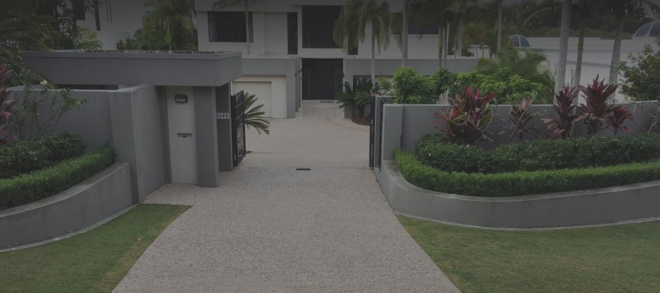 Concrete Driveways Banner